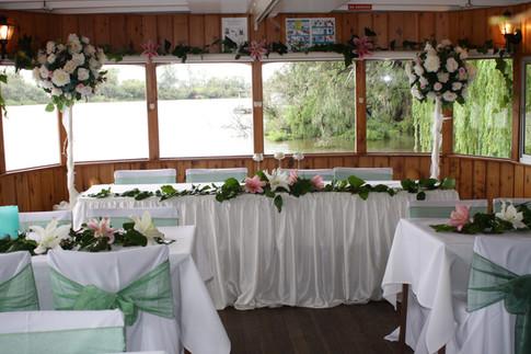 Rothbury Wedding Bridal table