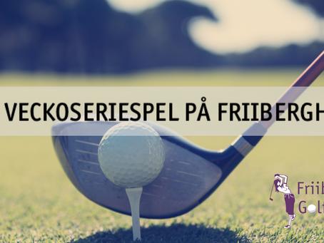 Veckoseriespel Friiberghs GK 2020
