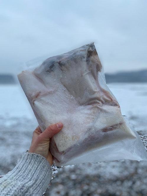 Wild Alaska Halibut Collars -  6 lb Box