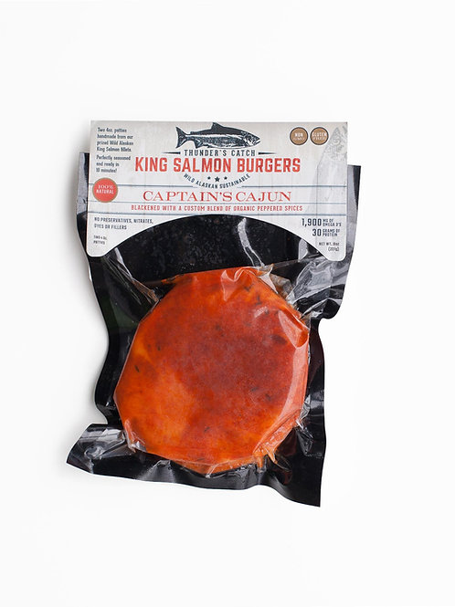 King Salmon Burgers (2): Captain's Cajun