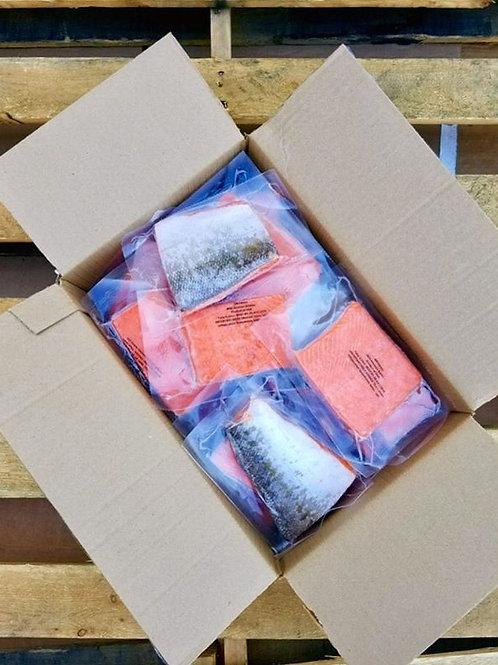Wild Alaska Sockeye Portions - 10 lb Case