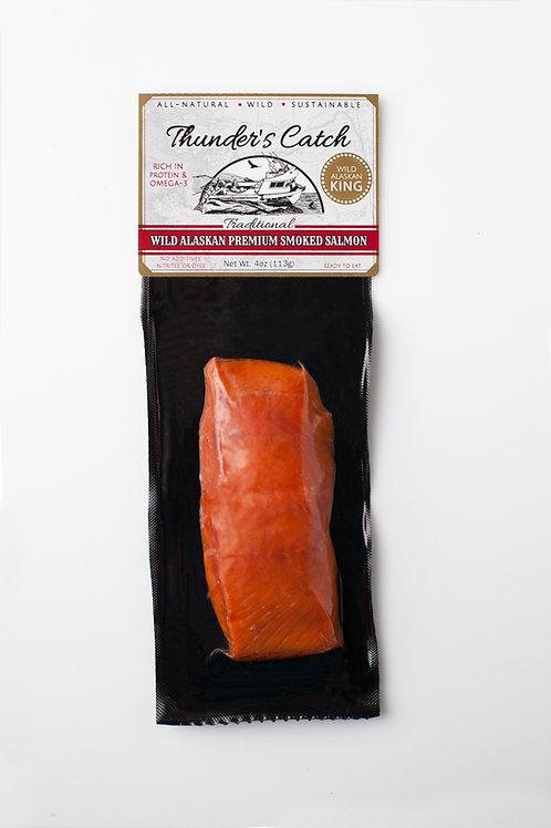 Traditional Smoked King Salmon