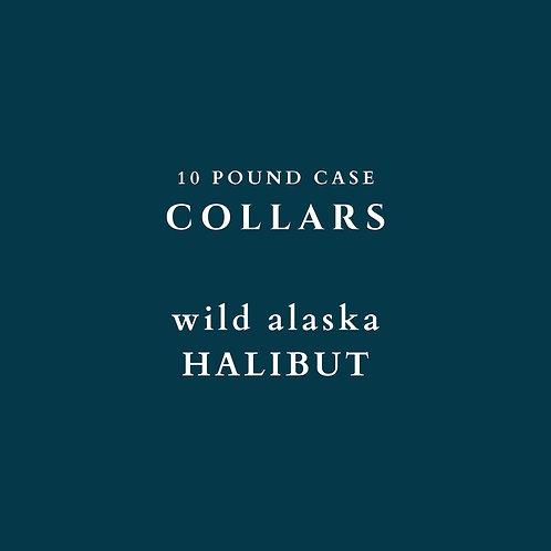 Wild Alaska Halibut Collars -  10 lb Box