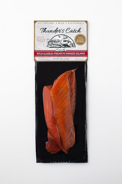Candy Smoked King Salmon