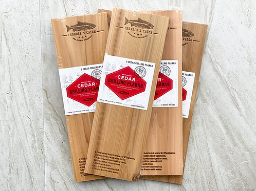 Cedar Grilling Planks - Fillet Size : Set of 2