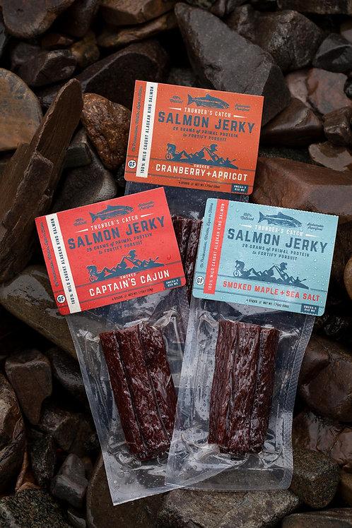 Salmon Jerky - Variety Pack (15)