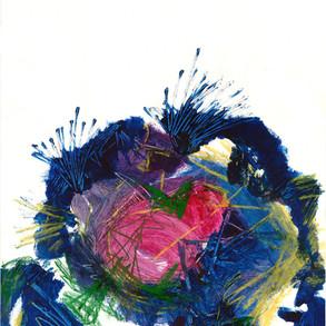 Blue Flower, 2019