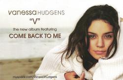 Vanessa Hudgens Album Cover