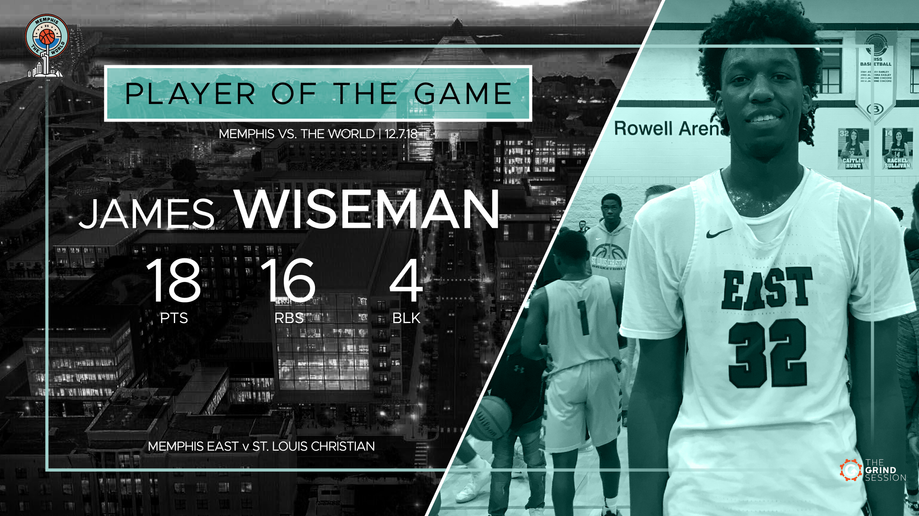 Player of the Game graphic
