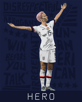 Megan Rapinoe: A Living Legend