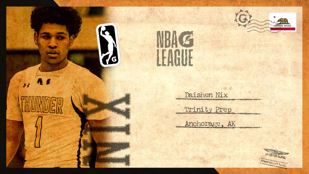 Daishen Nix: NBA G League