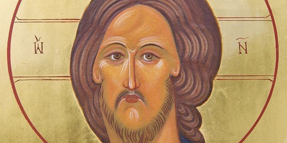 Miniature Icon of Christ Pantocrator Workshop