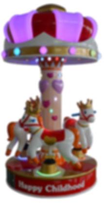 crown carousel, kiddy carousel, kiddy rides australia