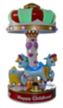 rainbow carousel, kiddy carousel, kiddy rides australia
