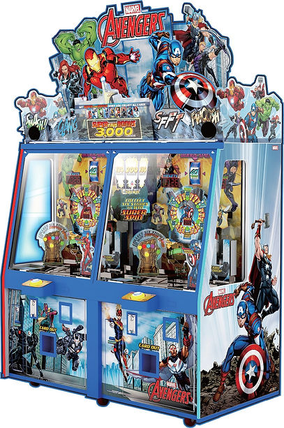 avengers, avengers pusher, avengers pusher andamiro, andamiro, andamiro australia, ticket redemption, ticket redemption games, amusement games, amusement games australia