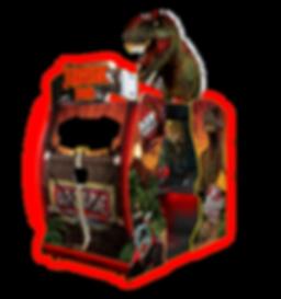 """JURASSIC PARK 55"""" AUSTRALIA, VIDEO GAMES AUSTRALIA, RAW THRILLS AUSTRALIA, JURASSIC PARK AUSTRALIA, JURASSIC PARK VIDEO GAME"""