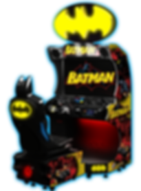 BATMAN, BATMAN DRIVING GAME, RAW THRILLS AUSTRALIA