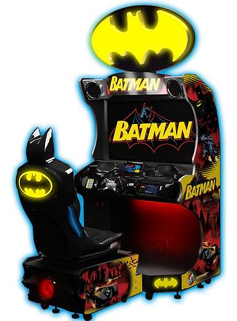 BATMAN, BATMAN DRIVING GAME, RAW THRILLS AUSTRALIA
