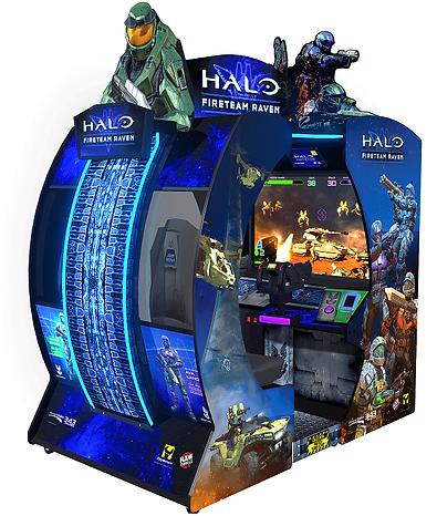 halo fireteam raven, halo arcade game, raw thrills, raw thrills australia, halo raw thrills