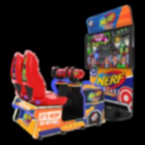 nerf arcade raw thrills, NERF GUN, NERF GUN ARCADE, NERF ARCADE AUSTRALIA, RAW THRILLS AUSTRALIA