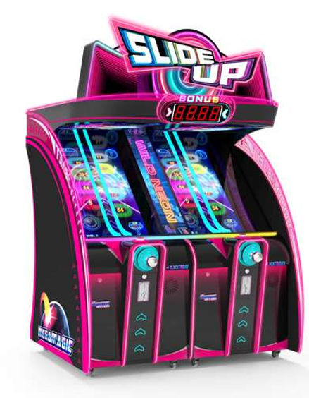 slide up, slide up ticket redemption, amusement machines, amusement games, ticket redemption, arcade games