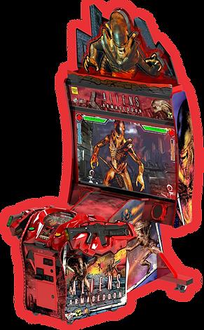 aliens, raw thrills, raw thrills australia, arcade games, arcade games sale australia, man cave
