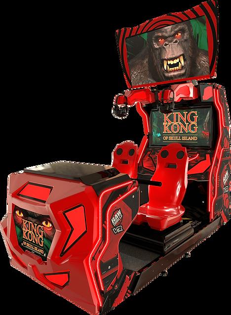 KING KONG, KING KONG VR, KING KONG OF SKULL ISLAND, VR, VIRTUAL REALITY, ARCADE GAME VR, RAW THRILLS, RAW THRILLS AUSTRALIA