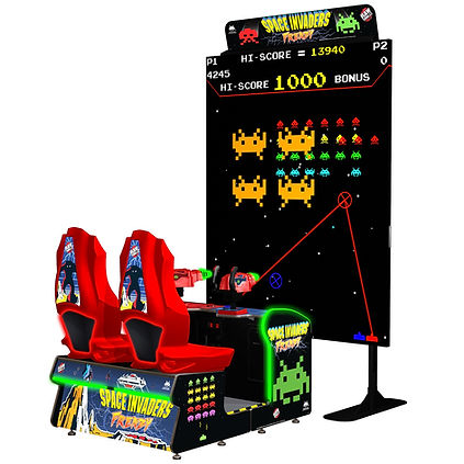 SPACER INVADERS, SPACE INVADERS AUSTRALIA, RAW THRILLS AUSTRALIA, TAITO, ARCADE GAMES, AMUSEMENT MACHINE, RAW THRILLS AUSTRALIA