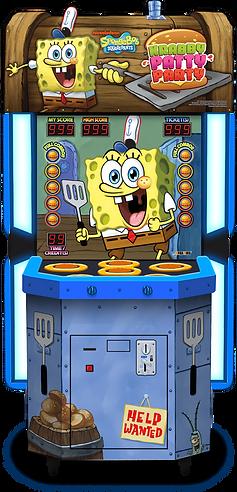 krabby patty party, krabby patty party andamiro, andamiro games, andamiro australia, ticket redemption games, amusement games, amusement games australia