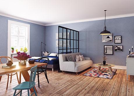 renovation sejour chambres placo peintur