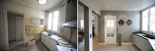 upoq , renovation interieur appartement