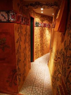 Accès espace Toilettes