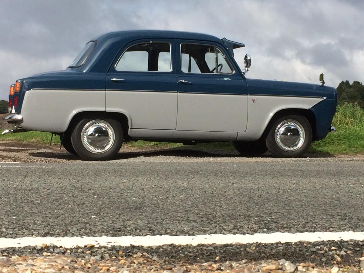 Ford prefect rear