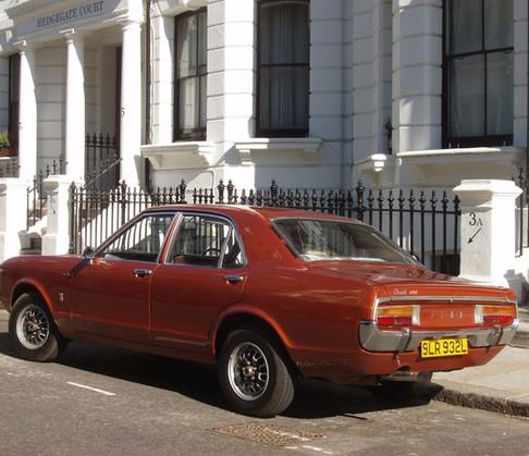 Mk1 Granada  Consul rear view