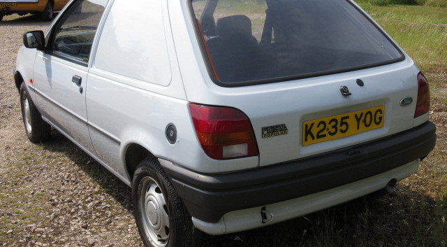 Fiesta Van Rear