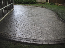 Stamped Concrete Patio 5