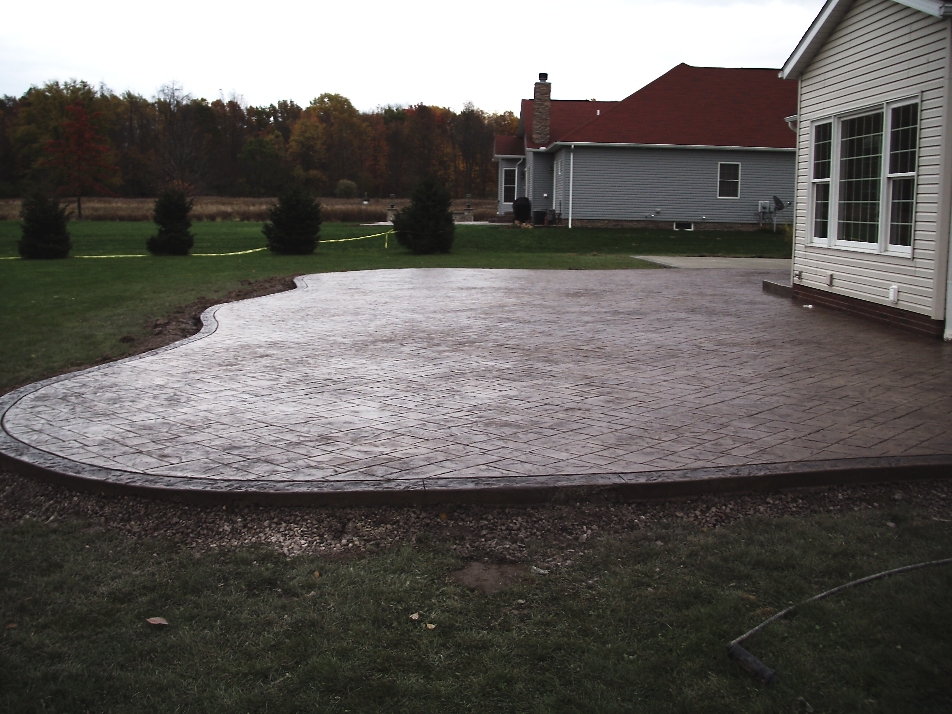 Stamped Concrete Patio 7