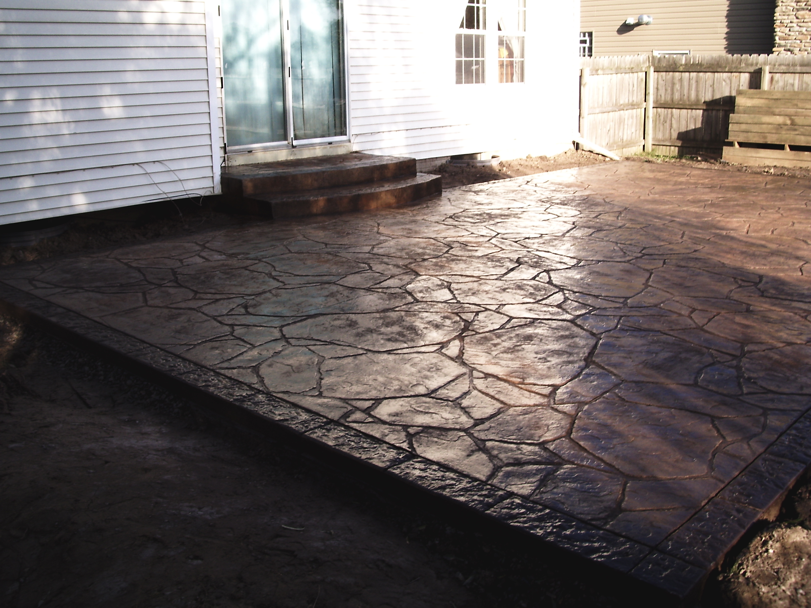 Stamped Concrete Patio 9
