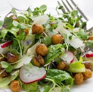 microgreens-salad-with-roasted-chickpeas