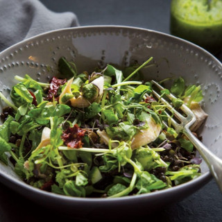 Trout-Lentil-Salad-with-Microgreen-Pesto