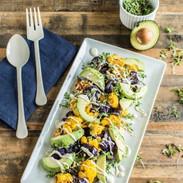 cauliflower-microgreen-avocado-salad-gar