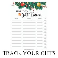 Track your gifts