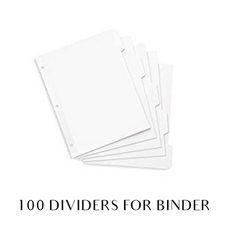 100 dividers