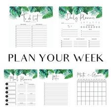 Plan Your Week - Palm Package
