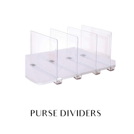 Purse dividers