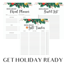 Get Organized for the Holidays