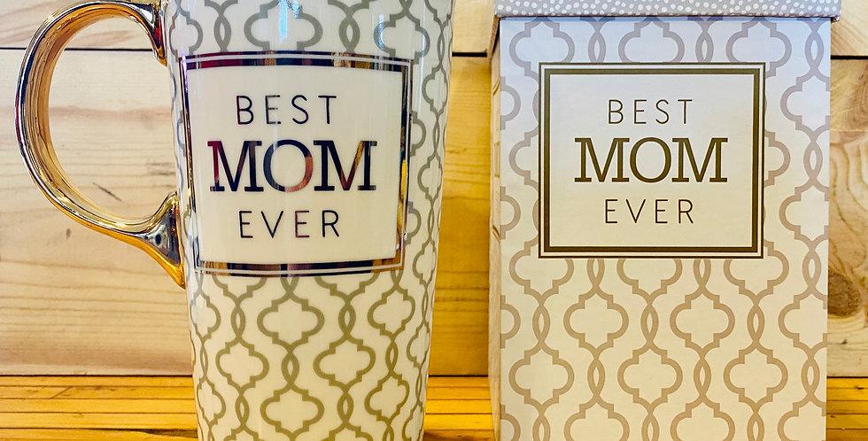 Ceramic Travel Cup- Mom