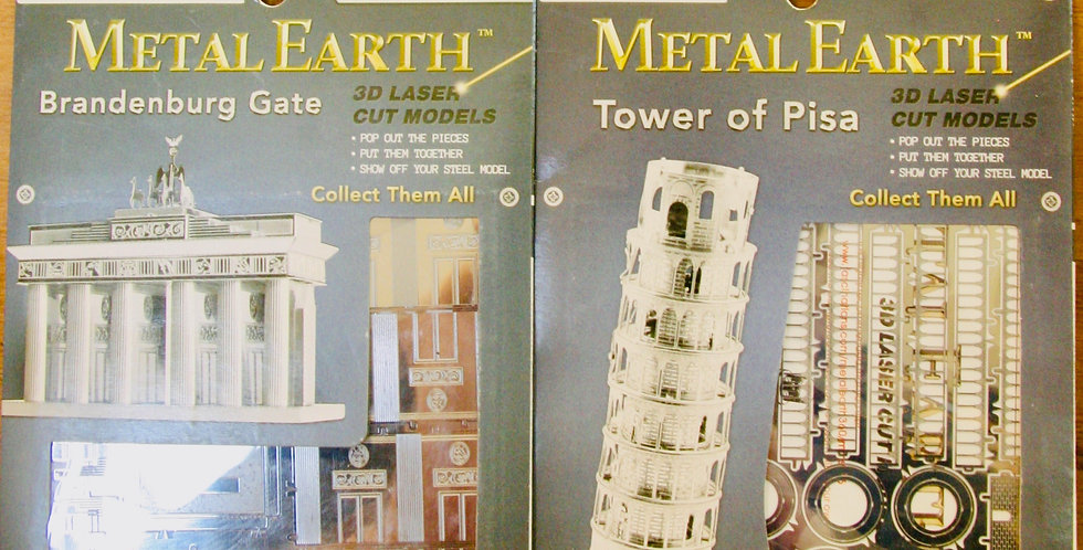 Metal Earth: Buildings!