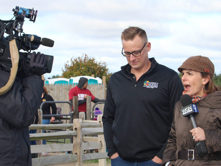WGN's Around Town Sent a Film Crew to Abbey Farms – What Fun!