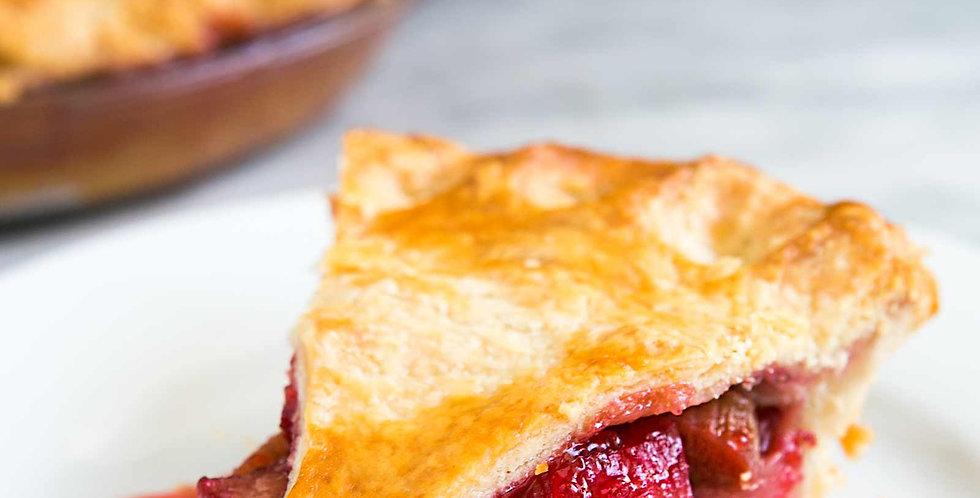 Whole Rhubarb Pie